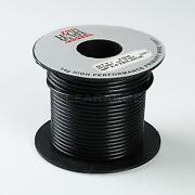 100ft Black 14 Gauge Automotive Primary Wire Stranded Conductor Material Copper
