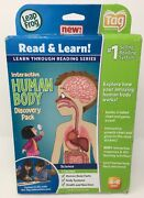 Leapfrog Tag Reading System Interactive Human Body Discovery Pack Read And Learn