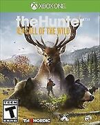 The Hunter Call Of The Wild Xbox One. Brand New Factory Sealed. Free Shipping