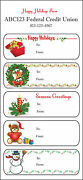 Holiday Stickers Christmas Gift Labels Stickers - Personalized 1,000 Sheets
