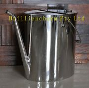10l Stainless Steel Handy Can For Fuel/petrol Jerry Can