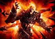 God Of War Ascension Xbox One Ps4 Ps3 Game Pc 2 A3 Art Print Poster Yf5220