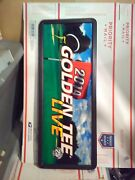 Golden Tee 2014 Arcade Marquee With Frame 11