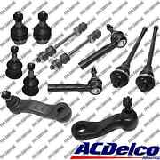 New Front End Kit Acdelco Tie Rodspitmanidler Arm For Chvy Silverado 1500 4wd