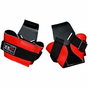 Weight Lifting Reverse Hook Hand Bar Straps Gym Wrist Support Workout Training