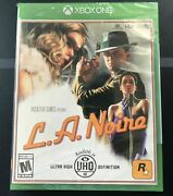 L.a. Noire - Xbox One - Brand New And Sealed - Free Shipping