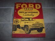 1953 Ford F-100 250 350 600 700 Truck Chassis Body Factory Parts Catalog Manual