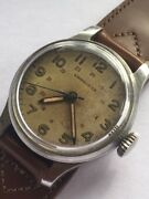 Longines 24 Hour Dial Wwii Era Watch