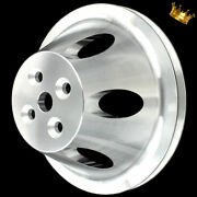 Billet Small Block Chevy Short Water Pump Pulley Fits Chevy 283 327 350 383 400