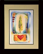 Abstract By Alfred Gockel Sale Framed Fine Art Decorative Contemporary
