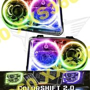 Oracle Halo 2x Headlights Hid For Chrysler 300 300c V8 05-10 Led Colorshift 2.0