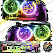 Oracle Halo Headlights Non Hid For Dodge Charger 05-10 Colorshift 1.0