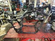 1995 Honda Shadow Vt 1100 Vt1100 Motorcycle Frame Straight Chassis