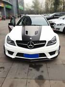 Frp Black Series Wider Body Kit For 12-13 Mb W204 C63 Amg Coupe Bumper Fender