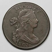 1803 S-262 R-4+ Sm Date Sm Frac Draped Bust Large Cent Coin 1c