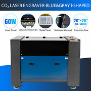 Omtech 60w 28x20 Inch Co2 Laser Engraving Engraver Machine Motorized Workbed