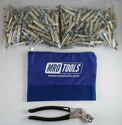 250 3/16 Cleco Sheet Metal Fasteners Plus Cleco Pliers W/carry Bag K1s250-3/16