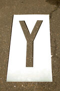 Individual Letter And Number Stencils 10