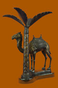 Limited Edition Sign Camel Desert Israel Bronze Statue Hot Cast Home Office Andnbspdb