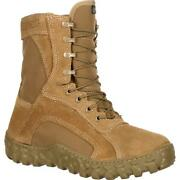 Rocky Fq00104-1 S2v Us Made Berry Compliant Waterproof Insulated Combat Boots