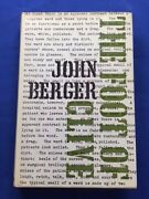 The Foot Of Clive - First Edition By John Berger - Second Novel