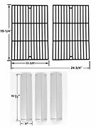 Bbq Grillware Ggpl-2100 Gas Grill Heat Shields Cooking Grates Replacement Kit