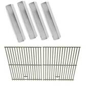 Repait Kit For Tera Gear Srgg41122 Grill Model - 4 Heat Plates And Cooking Grids