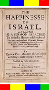 1645 The Happiness Of Israel Sermon Antique Holy Bible Messianic Hebrew Jewish