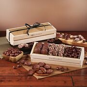 18 Boxes Food Gifts Gourmet Brownies With Or W O Your Logo In Gift Box Nv956