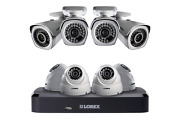 Lorex Hdip88dw 1080p Hd Ip Security System 8ch Nvr And 8 Outdoor 1080p Ip Cams