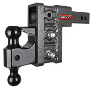 Gen-y Drop Hitch 3 Receiver Class V 32k Towing 6 Drop, Ball And Pintle Gh-1723