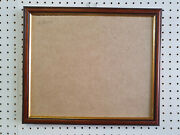 Buy Direct - 20mm Walnut And Gold Photograph/picture Frames