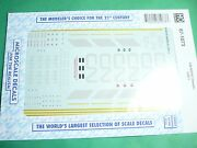 Microscale Decals Ho 87-1073 Canadian National Sd70i Diesels 1997+