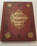 Hilland039s Business Forms And Guide To Correct Writing Thos. Hill - 1875 Antique Book