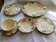 Vintage Franciscan Ware Desert Rose 12 Misc.replacement Pieces Free Ship