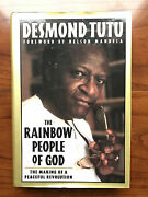 The Rainbow People Of God, By Desmond Tutu-1994- Signed 1st Ed, 1st Ptg.h/c Book
