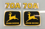 John Deere 70a Loader Decals