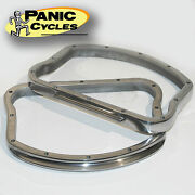 Replica Polished Alloy D-rings For Rocker Covers Harley Panhead 1948-65 Bobber