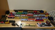 Model Train Collection Superbowl Train Three Working Trains Lots Of Accessories