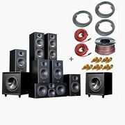 New Home Theater System - 7.1 Intimus 5t Hybrid Bundle By Aperion Audio