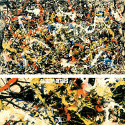 54wx34h Convergence By Jackson Pollock - Drip Painting Choices Of Canvas