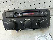 Dodge Caravan Dash Heater Control Ac 03 Chrysler Voyager Town And Country 2 Zone