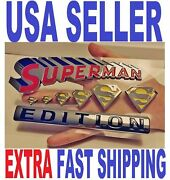 Superman Edition Quality Emblem Hero Truck Decal Ornament Sign Fit All Cars