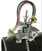 New B And B Pipe Tools - 8001 - Automatic Chain Pipe Cutter And Beveling Machine