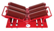 New B And B Pipe Tools - 2125hd - 4- 48 Heavy Duty I-beam Clamp Pipe Rollers