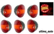 6x 12v Rear 20 Led Lights Stop Tail Indicator 3 Function Tractor Lorry Trailer