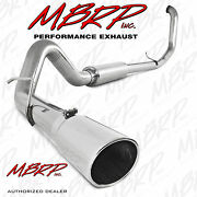 Mbrp 409ss 4 Straight Pipe Exhaust 99-03 Ford Diesel 7.3l Powerstroke F250 F350