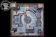 Malifaux Venice City Quarters Hand-crafted Pp 3d Playing Board For Malifaux