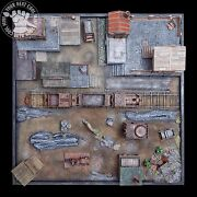 Malifaux Railway Station Hand-crafted Pro-painted 3d Playing Board Malifaux