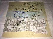 Buffalo Springfield Signed Greatest Hits Lp Album X4 Neil Young Proof
